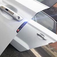 4 Pcs S Line Black Color Sticker Car Door Anti Collision Scratch Edge Protector
