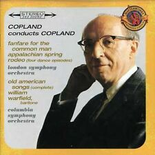 Aaron Copland, A. Co - Copland Conducts Copland: Fanfare / Appalachian [New CD]
