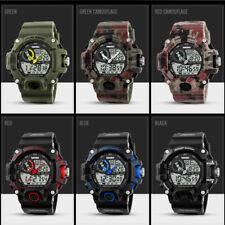 Men's Army Wrist Watch Digital Analog G Style Sport Waterproof SHOCK Military