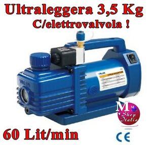POMPA VUOTO 1.5 CFM V-I115S-M pesa 3,5kg! gas R410A R407C R134A R22 1.5CMF VALUE
