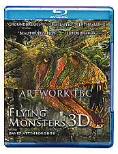 Flying Monsters (Blu-ray 3D + Blu-ray) [Region Free] New & Sealed