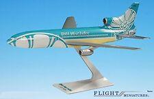 BWIA West Indies Lockheed L-1011 Airplane Miniature Model Plastic Snap Fit