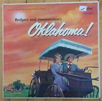 Rodgers and Hammerstein's OKLAHOMA! Soundtrack Vinyl  Record Album SWAO 595 VG+