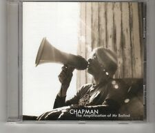(HK679) Chapman, The Amplification Of Mr Ballad - 2009 CD