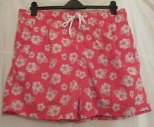 M&S Blue Harbour Red Swim Shorts Size XXL