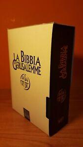 La Bibbia di Gerusalemme -Edizione con copertina in plastica e cofanetto