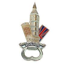 London Souvenirs Big Ben Bus Post Box Fridge Magnet Bottle Opener Union Jack
