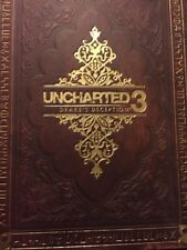 Uncharted 3 Drakes Deception Special Edition Book Video Game