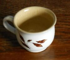 A small Denby Hand painted cup mug