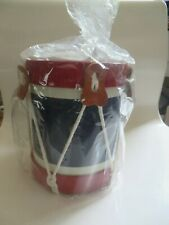 Vintage Noble & Cooley CIVIL WAR AMERICAN COLONIAL Snare Drum Coin Bank NEW C