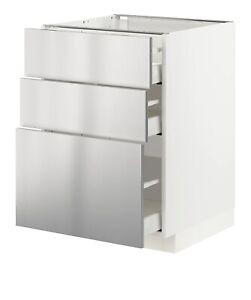 Ikea Grevsta edelstahl Schubladenfront 80 x 20 cm Front 702.058.71 Neu OVP Metod