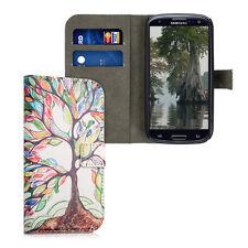 kwmobile Schutz Hülle für Samsung Galaxy S3 S3 Neo bunter Baum Kunstleder Case