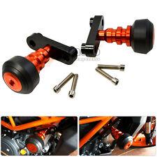 Frame Sliders Crash Protectors For KTM DUKE 125 200 All DUKE 250 17-18 DUKE 390
