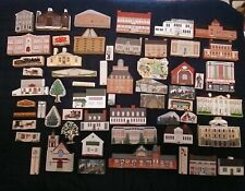 The Cats Meow-My Home Towne Village Lot of 56 Pieces,Gww02 Gone With The Wind