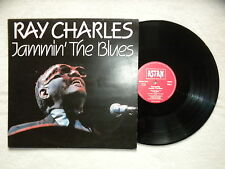 "LP RAY CHARLES ""Jammin' The Blues"" ASTAN 20078 GERMANY §"