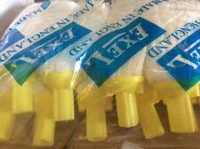 30 x Exel Socket Mop Heads TY Food Hygiene Safe Yellow White Big Joblot Job Lot