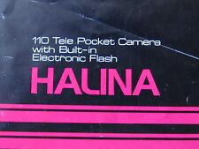 HALINA POCKET CAMERA GUIDE/collectable/ephemera/cameras/photography/film/history