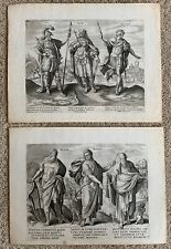Maerten de Vos Kings Of Israel and Judea Claes Jansz Visscher Etchings Belgium