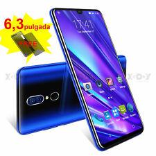 "2020 Nuevo 6,3"" Smartphone 16GB Android 9.0 Teléfono Móvil Libre Dual SIM 4 Core"