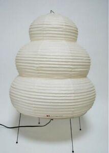 Isamu Noguchi Akari 24N Stand Lamp Floor Lamp Washi Japanese Handcraft