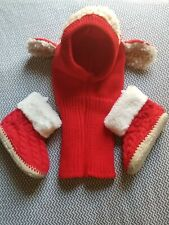 Baby Gap Holiday Christmas Baby Lamb Costume Hat Bootie Set Fits Toddler 2T Best