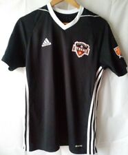 ADIDAS MLS Houston Dynamo BLACK Jersey Men's Medium Climacool