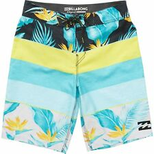 20f7156bb1 Billabong PARADISE OG Mens 100% Polyester Boardshorts 32 Lime NEW