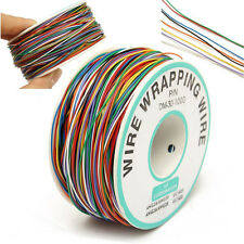 B-30-1000 280M 30 AWG 8-Wire Colored Insulation Test Wrapping Copper Cable