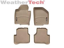 WeatherTech Floor Mats FloorLiner for Volkswagen CC/Passat 1st & 2nd Row - Tan