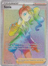 Pokemon Tcg Ss Rebel Clash 203/192 Sonia Secret Rare Card