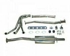 Complete Exhaust System Stainless W/ Header Muffler & Hardware MGB GEX130HDSS