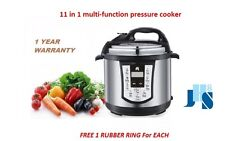 NEW JHS8 11-in-1 stainless steel Electric Digital Multi 6L 1000W Pressure Cooker