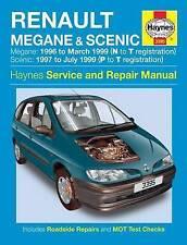 Renault Megane & Scenic Petrol & Diesel (96 - 99) Haynes Repair Manual Service