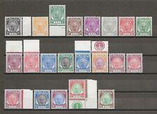 MALAYA/PAHANG 1950/6 SG 53/73  MNH Cat £120