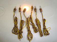 """All Scales Replacement Bulbs & Sockets for LGB 3030 Light Fixtures With 18"""" wire"""