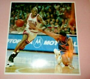 1993 Michael Jordan Original Wire Photo - Taking on Cavaliers in 1993 Play-offs!