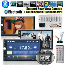 """2 Din 7"""" HD Touch Screen Bluetooth Car Stereo MP3/MP5 Player FM Radio In-Dash"""