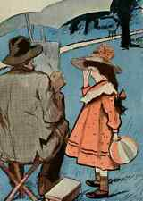 A4 Photo Sancha La Vie en Rose 1903 Can I help you Papa Print Poster
