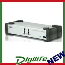 Aten 2 Port USB 3.0 4K DisplayPort KVMP Switch, KVM cable included CS-1912