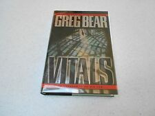 Vitals by Greg Bear, SIGNED, 1st Editiion, Hardcover, 2002