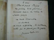 Editions du PIGEONNIER Jean LEBRAU: Témoignage 1925 EO + bel envoi à FAGUS +LAS