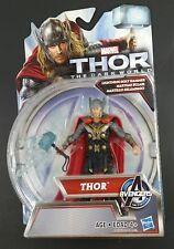 Marvel Thor the Dark World Thor with Lightning Bolt Hammer Figure Hasbro