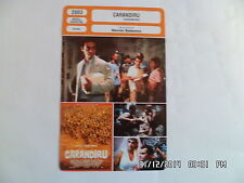 CARTE FICHE CINEMA 2003 CARANDIRU Luiz Carlos Vasconcelos Milton Goncalves