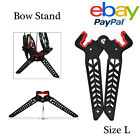 Archery Bow Stand,Folding Portable Compound Bow Limb Clamp Kick Stand Holder