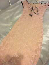 Wheels And Doll Baby Pink Lace Wiggle Dress Size 1 Pin Up Girl Vintage 50s Style