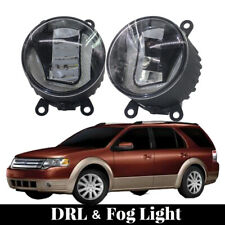 2in1 Upgrade LED Bumper DRLs Daytime Driving Fog Lights Fit For Ford Taurus X