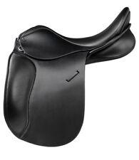 Trainers Jessica Pro Black Dressage Saddle 16'', 17'' & 17.5'' NEW