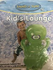 Sand And Sun Kids Lounge Inflatable Pool Float New In Box