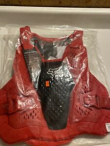 Fox Racing Raceframe Roost Guard Flame Red Size Large / XLarge