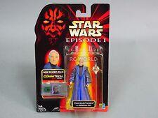 Vintage Star Wars CommTech Chip Chancellor Valorum Action Figure  #z3a